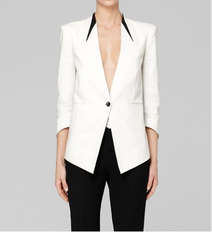 Era suiting blazer by Helmut Lang