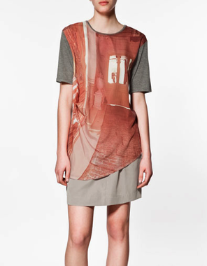 PRINTED T-SHIRT at Zara, 22.95 EUR