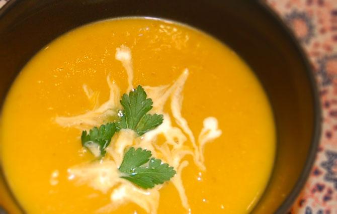 Roast Butternut Squash Soup