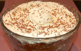 Ten Minute Chocolate Trifle 4