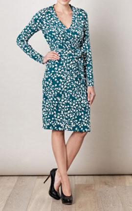 Diane Von Furstenberg  Zalda Bis dress (136522) €402.00 at www.matchesfashion.com