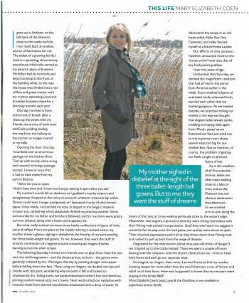 Mary Elizabeth Coen, YOU Magazine in The Irish Mail