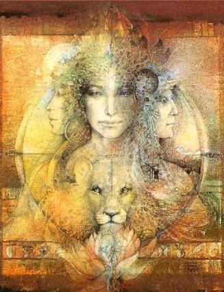 The Triple Goddess by Susan Seddon Boulet