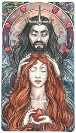 The original Beatuy & the Beast - Hades and Persephone
